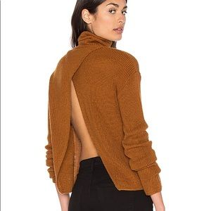 REVOLVE x Lovers + Friends Open Back Sweater NWT
